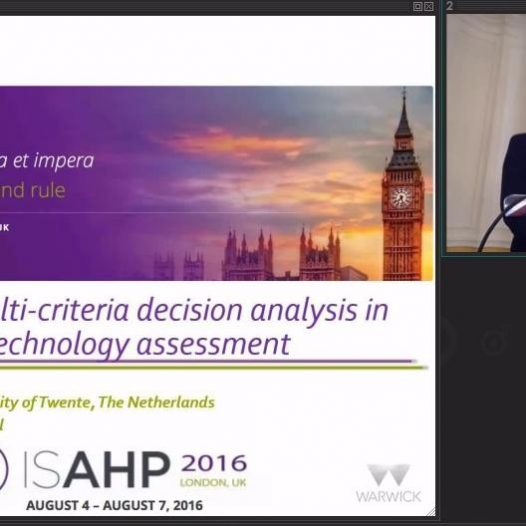 The use of multi-criteria decision analysis in early health technology assessment