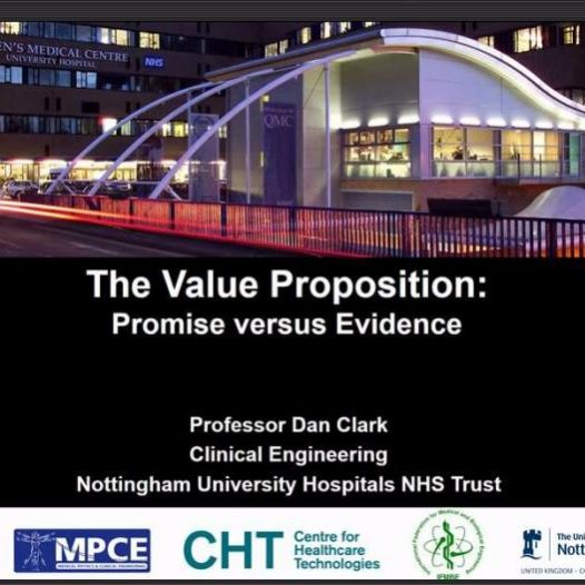 The Value Proposition: promise versus Evidence
