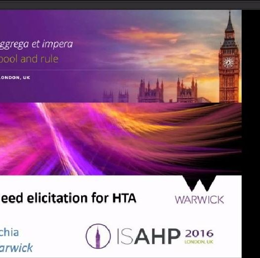 AHP in user need elicitation for HTA