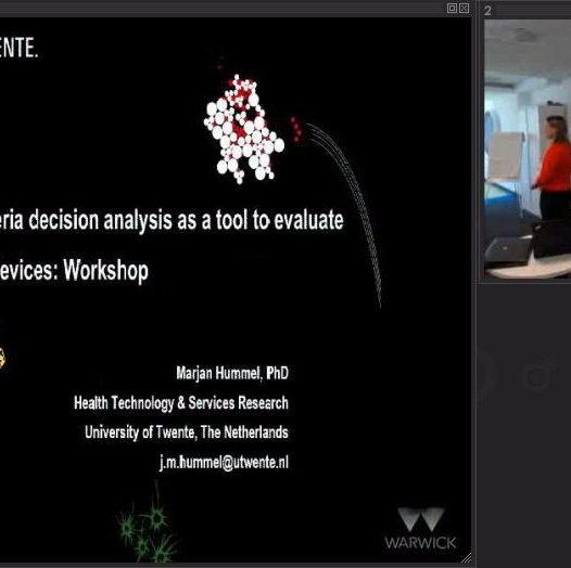 Multicriteria Decision Analysis (MCDA) for early HTA