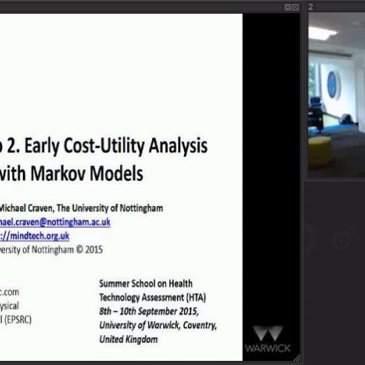 Early stage HTA via Markov Models