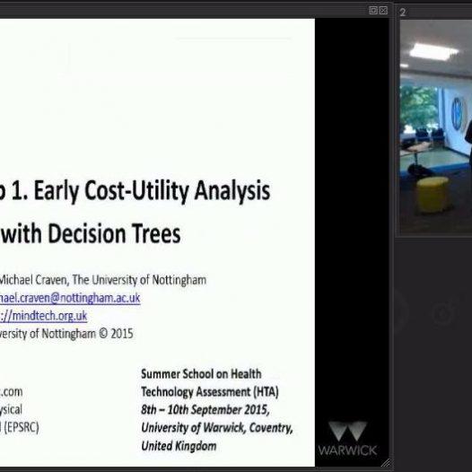 Early stage HTA via decision tree