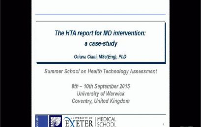 Institutional HTA: the European perspective
