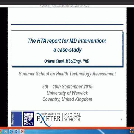 Institutional HTA: the European perspective