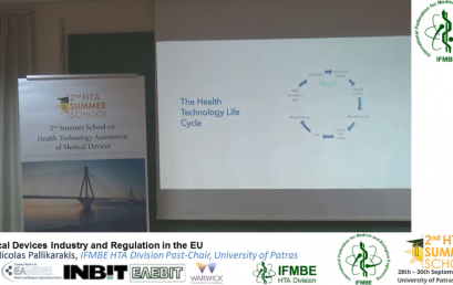 The Industry of Medical Devices & Medical Devices Regulation of in the EU, Prof N. Pallikarakis – II IFMBE Summer School on HTA